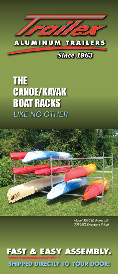 Trailex Canoe Kayak Boat Rack